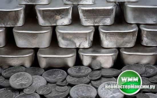 Обозначение серебра на Форекс