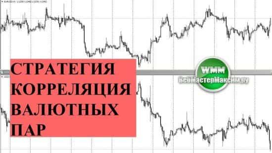Стратегия торговли на корреляции валютных пар на форекс. Про EURUSD, USDCHF, USDJPY и другие