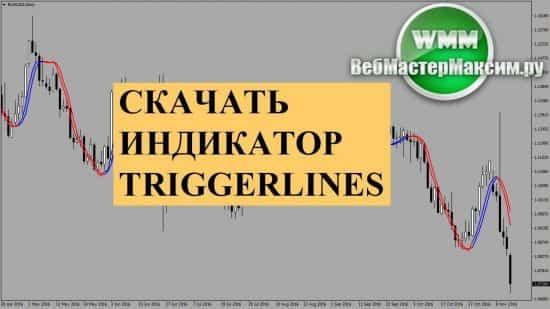 Индикатор triggerlines. Скачать бесплатно и начать пользоваться. Цели определены!