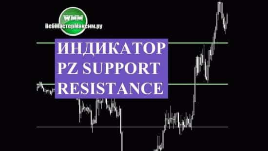 Индикатор PZ Support Resistance. Скачать, чтобы уже, наконец, научиться пользоваться уровнями
