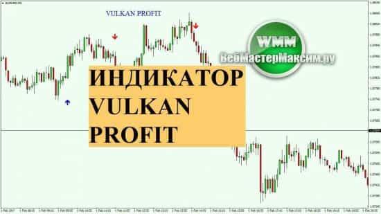 Индикатор Vulkan profit. Без перерисовки