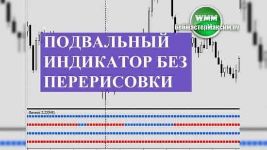 Подвальный индикатор без перерисовки Genesis и торговля на форекс, как боевое искусство