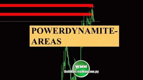 Индикатор PowerDynamiteAreas. Скачиваем, настраиваем, вдохновляемся торговать