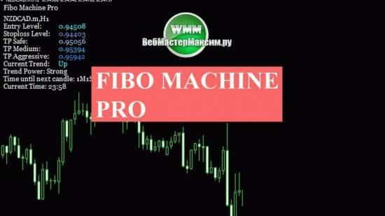 Indicator Fibo machine pro. Узнайте, как использовать. Можно скачать бесплатно