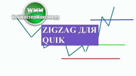 Zigzag для Quik легче освоить по стратегии на пробой