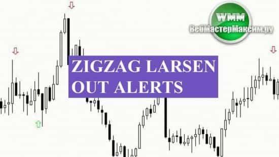 Индикатор zigzag larsen out alerts. Настройки, описание, отзыв
