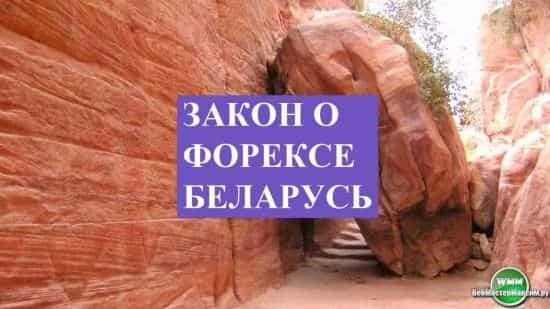 Принятие закона о легализации Форекса в Беларуси заставило поволноваться российских пользователей