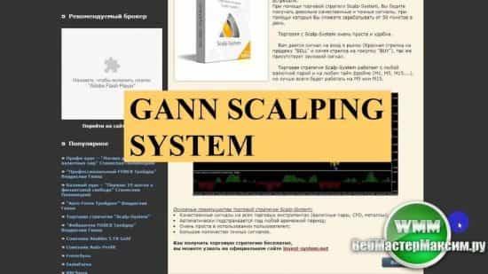 Gann scalping system, Antix, Renko, Ashi