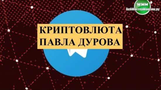 Криптовалюта Павла Дурова. Провокация, возможность или прогресс