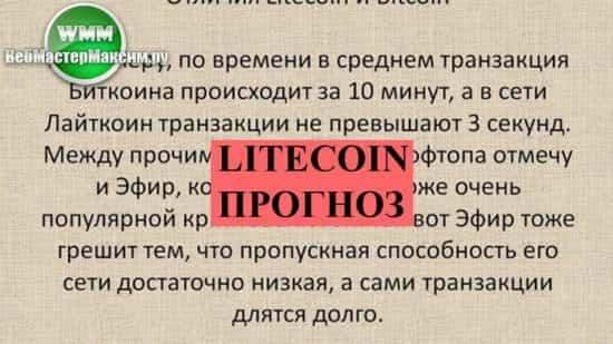 Litecoin прогноз на 2018-ый. Планомерное рассмотрение