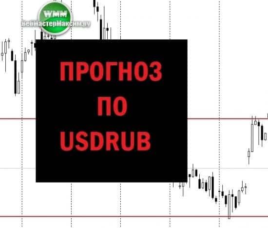 прогноз по USDRUB на неделю