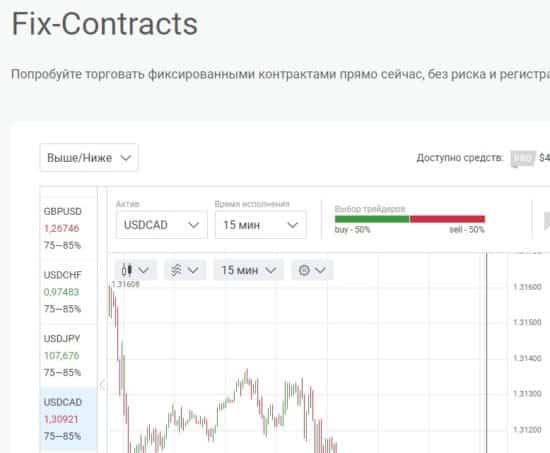 фиксированные контракты