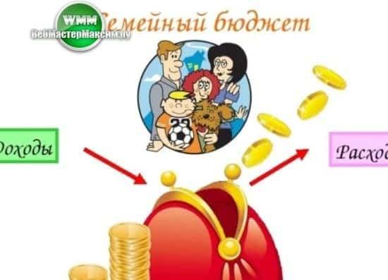 ведём семейный бюджет верно